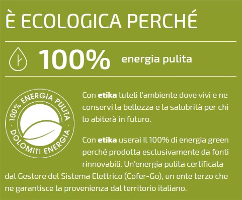 Offerta Etika Ecologica